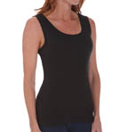 Ladies' Cotton Ribbed Tank 2 Pack