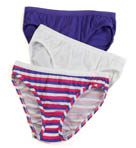 Ladies Cotton Bikini Panty - 3 Pack Image
