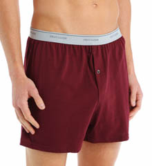 3 Pack Exposed Waistband Knit Boxers