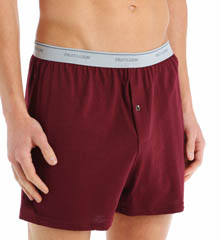 3 Pack Exposed Waistband Big Man Knit Boxers