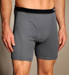 Covered Elastic Boxer Briefs - 4 Pack