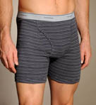 Big Man Stripe/Solid Boxer Briefs - 4 Pack