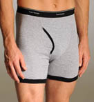 Big Man Ringer Boxer Briefs - 4 Pack