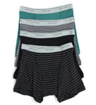 Stripe/Solid Assorted Trunks - 4 Pack