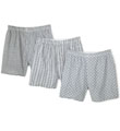 Fruit Of The Loom 3 Pack Print Woven Boxers 520