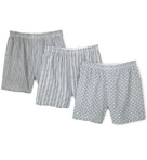 Print Woven Boxers - 3 Pack