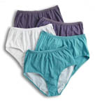 Ladies Assorted Plus Size Briefs - 5 Pack