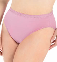Fruit Of The Loom Ladies Hi Thigh Plus Size Panty - 5 Pack 5DCLHCP