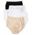 Fruit Of The Loom Ladies Nylon Brief Panty - 5 Pack 5DN2201