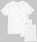 Fruit Of The Loom 5 Pack Big Man V-Neck T-Shirts 5P2525X