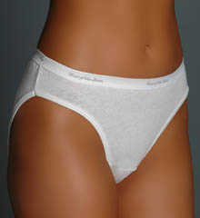 Ladies Cotton Bikini Panty - 3 Pack