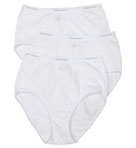 Fruit Of The Loom Ladies Cotton Brief Panty - 3 Pack D22030