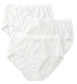 Ladies Fit for Me Cotton Brief Panties - 3 Pack Image