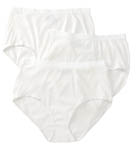 Fruit Of The Loom Ladies Fit for Me Cotton Brief Panties - 3 Pack D22030P