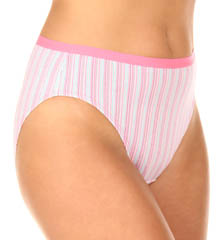 Ladies' Fit for Me Hi Cut Brief 3 Pack Panty