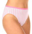 Fruit Of The Loom Ladies' Fit for Me Hi Cut Brief 3 Pack Panty DC2254P