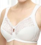Glamorise Lace Support Soft Cup Bra 1145