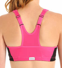 Glamorise 1266 Front Zipper MagicLift High Impact Sports Bra Glam01-1266