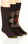 Gold Toe Argyle 3 Pack Socks 2096F