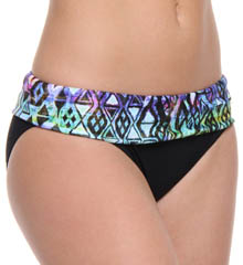 Profile Solid Aztec Medium Swim Bottom