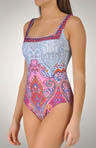 Formantera Square Neck 1 Piece Swimsuit