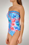 Sorbet Forest Bandeau One Piece Swimsuit