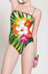 Gottex Maldives Bandeau One Piece Swimsuit 13MA070