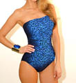 Gottex Bangalore Bandeau One Piece Swimsuit 14BB070