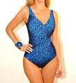 Gottex Bangalore Surplice One Piece Swimsuit 14BB158