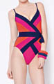 Classic Kira Open Surplice One Piece Swimsuit Image