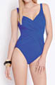Contour Lattice Surplice One Piece Swimsuit Image