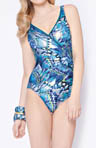 Gottex Classics Sierra Surplice One Piece Swimsuit 14SI159