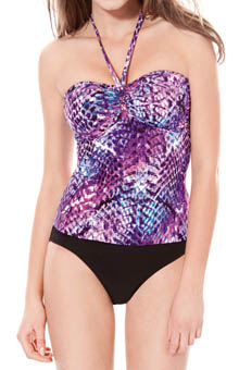 Profile Snake Charmer Bandini Swim Top