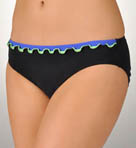 Profile Solid Tri-Colore Medium Swim Bottom