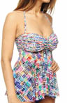 Gottex Profile Spring Awakening Twisted Tankini Swim Top 54-1B19