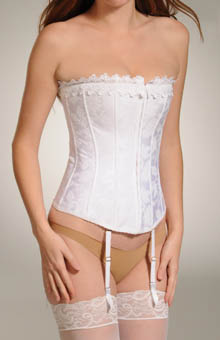 Satin Jacquard Corset