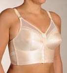 Front Close Soft-cup Longline Bra