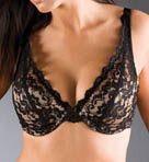 Grenier Bouquet Deep Cleavage Underwire Bra 8405