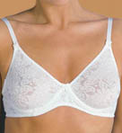 Grenier Cotton Floral Knit Underwire Bra 8450