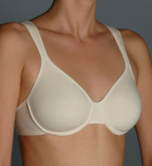 Extreme Comfort Cotton Molded Underwire Bra