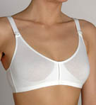 Cotton Molded Sports Bra with Shorter Straps