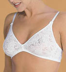 Grenier Cotton Floral Knit Soft Cup Bra 8550