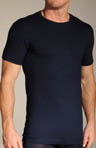 Grigioperla Fun Nero Perla Crew Neck T-Shirt 0012981