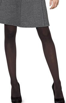 Silk Reflections Opaque Control Top Tights