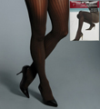 Silk Reflections Ribbed Control Top Tights Image