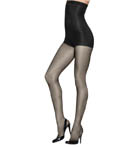 Panty Silhouettes High Waist Control Top Hosiery Image