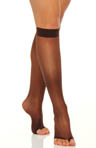 Silk Reflections Sheer Toeless Knee Highs 2 Pack