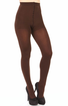 Hanes Silk Reflections Blackout Tights 0B318