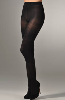 Vertical Texture Control Top Tights