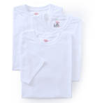 Original Cotton White Crew Neck T-Shirts - 3 Pack